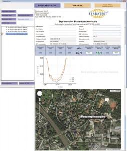 Leichtes-Fallgewicht-Software