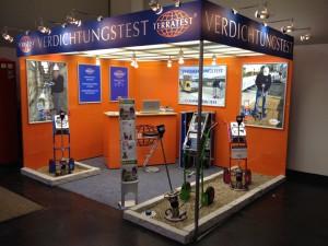 Light Weight Deflectometer la expoziţia GaLaBau de la Nürnberg